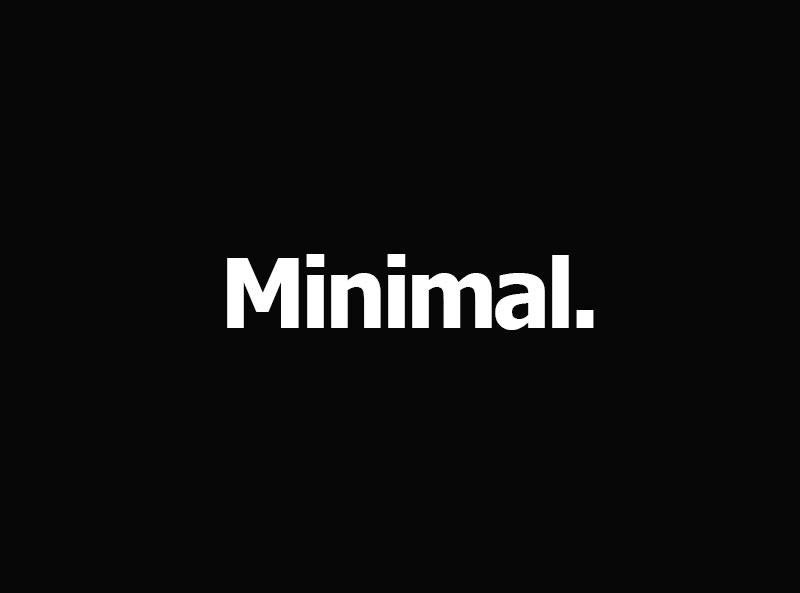 MINIMAL מינימל